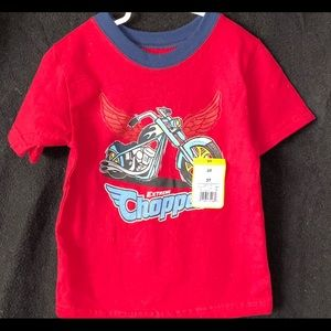 """Other - 🇺🇸 NWT Boys 3T """"Extreme Chopper"""" Tee"""